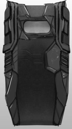 Early shield concept art