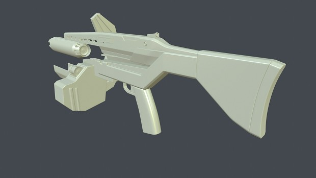 Redesigned AR2 - Renders (W.I.P)