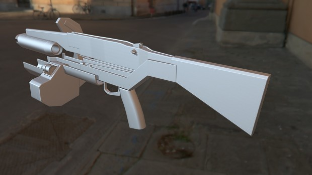 Overwatch Standard Issue Pulse Rifle (W.I.P.)