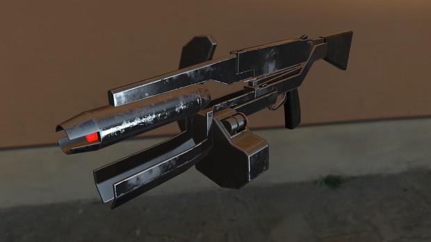 Overwatch Standard Issue Pulse Rifle (Week 2)