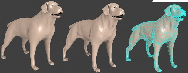 Dog (low-poly model)