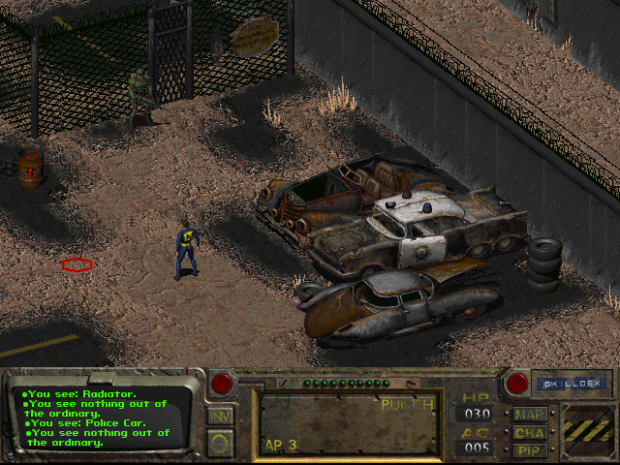 Outside the prison image - Van Buren: A Fallout RPG Adventure - Indie DB