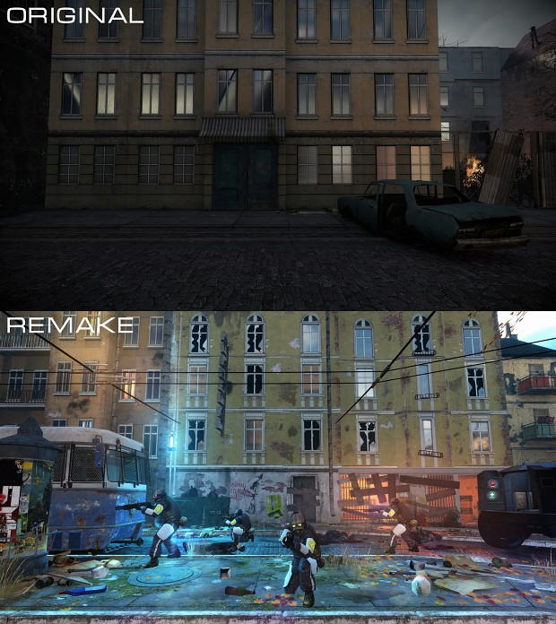 Original vs Remake