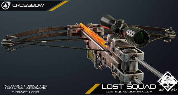 [RENDER] Lost Squad Crossbow weapon model