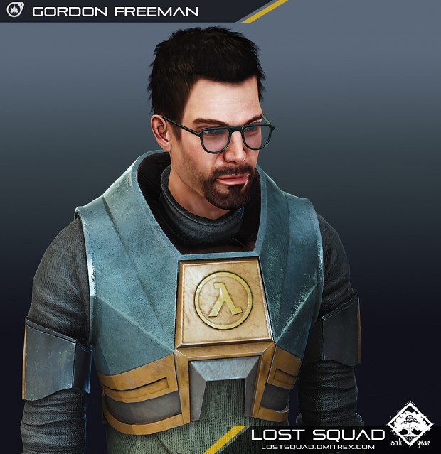 [RENDER] Lost Squad Gordon Freeman Model