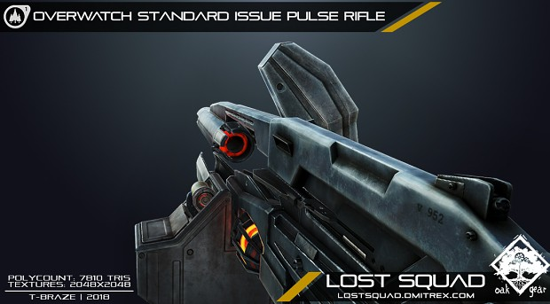 [RENDER] Lost Squad AR2 weapon model