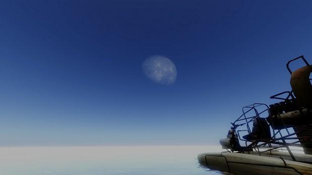 [DEV SCREENSHOT] Lost Squad Procedural Moon Demonstration