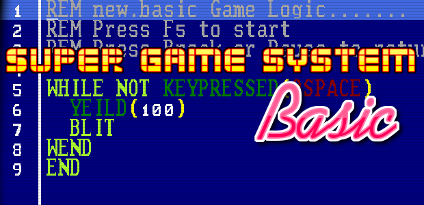 Super Game System Basic