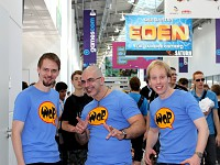 WoP developers at GamesCom in Cologne 2010
