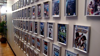 Games wall