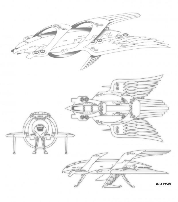 Strigidae aircraft design by Blaze45 (SensouSanka)
