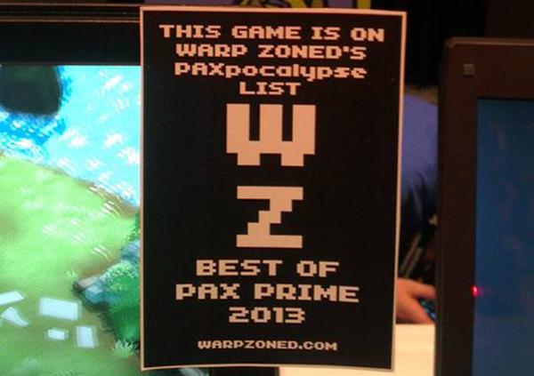 Warpzoned PAX