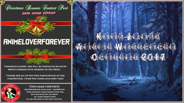 Christmas Bonus  Contest Winner Part - 2017