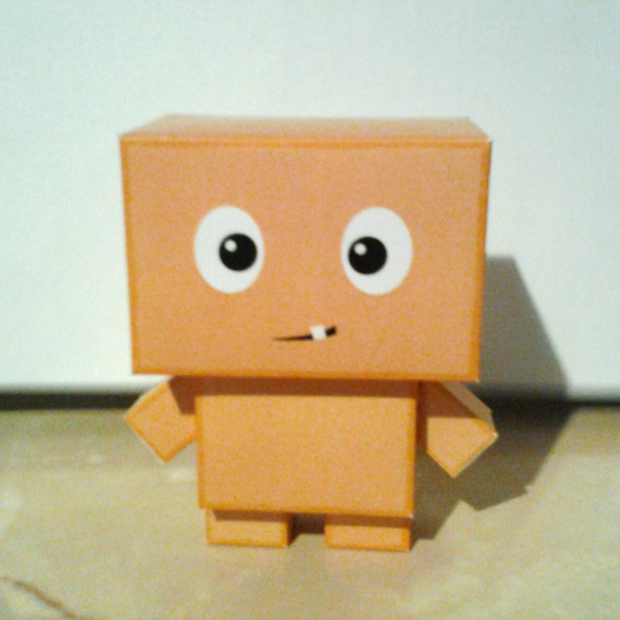 Box Kid Papercraft
