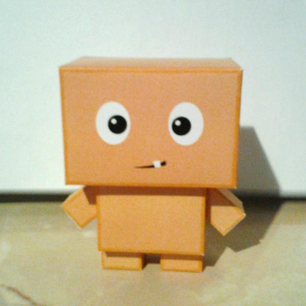 Box Kid Papercraft