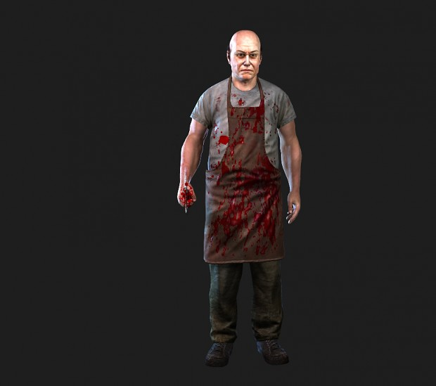 First 3D characters in development