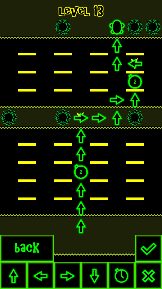 FrozenFrogger Screens