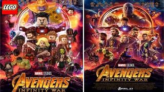 Original And Lego Avengers Infinity War