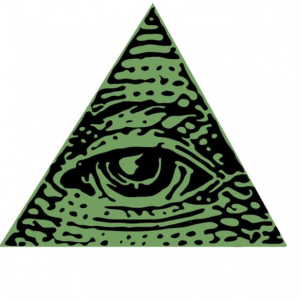 Le Royaume des Ailes de nuit Illuminati-Logo
