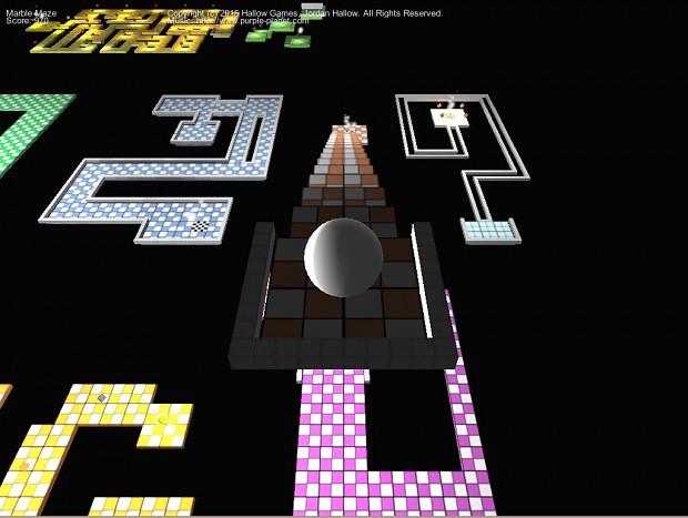 Marble Maze Screenshot