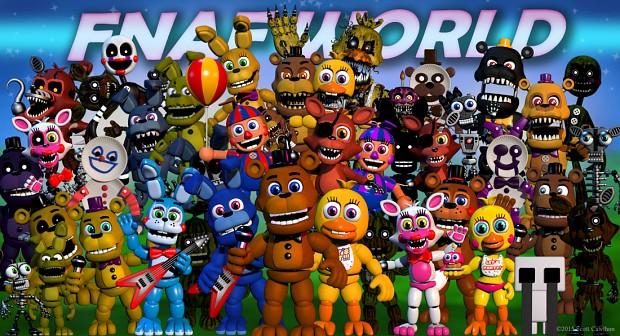 Fnaf world image indie db