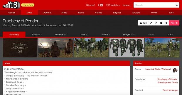v5 homepage