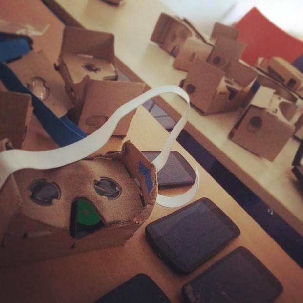 VR experiments are magic but can leave a big mess!