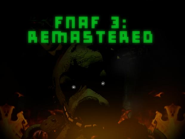 FNAF 3: Remastered - Game