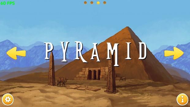 Main menu screenshots