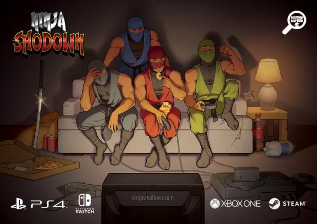 Ninja Shodown flyer