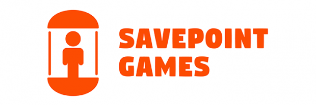 Savepoint Games: Logo - Wide