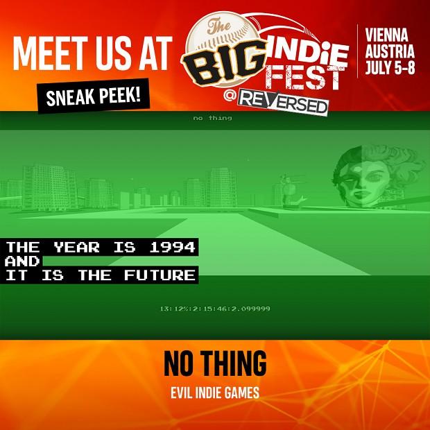 Evil Indie Games at Big Indie Fest @ReVersed (July 5-8th Vienna, Austria)