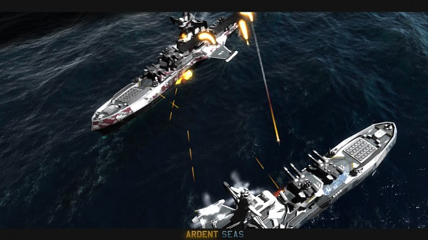 Ardent Seas - Naval RTS