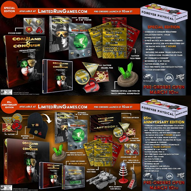 C&C Remaster - Collector's Edition