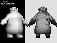 51 Run Gallery - Evil Scientist