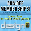 50% Off design3 Memberships