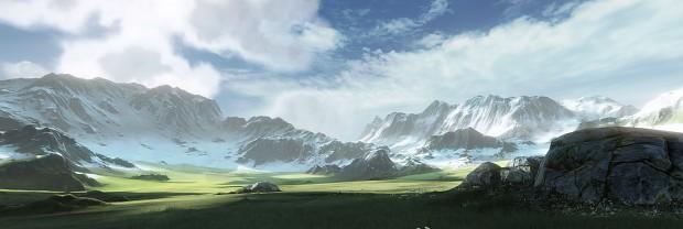 Terrain test - by Wenda