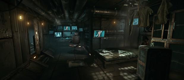 Hacker Nest (Matrix inspired) - by Karatekodden