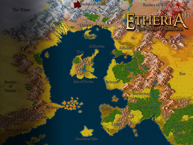 Map of Etheria