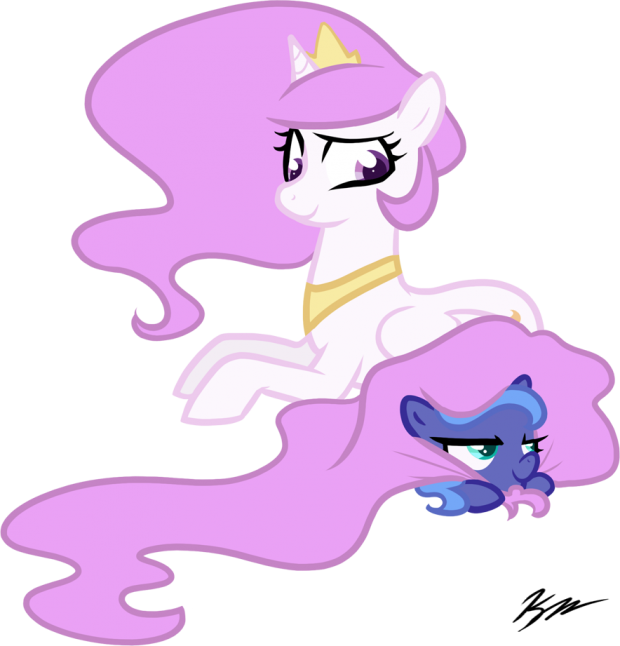 Celestia And Filly Luna image - Bronies of Moddb™ - Indie DB