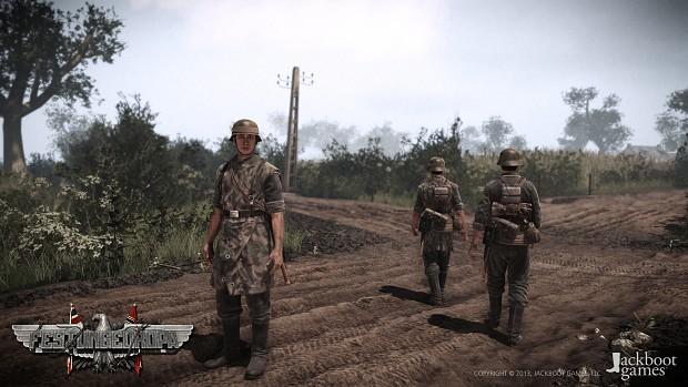 Festung Europa: Wehrmacht player models