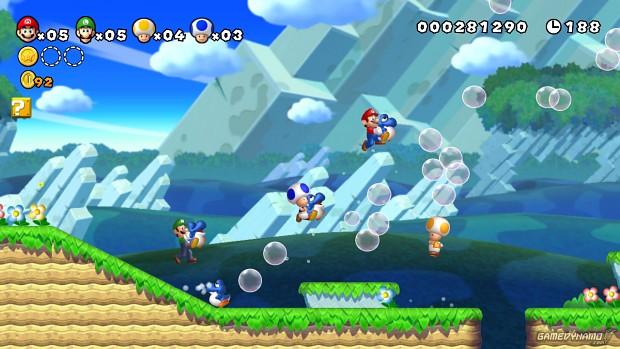 Wii u Launch titel : New Super Mario bros Wii u image - 8TH