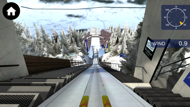 Kulm Skiflug WM 2016 - ingame screenshot