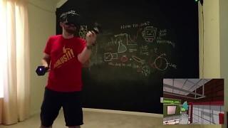 Vive wireless controller juggling in Job Simulator