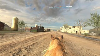 Horse gameplay