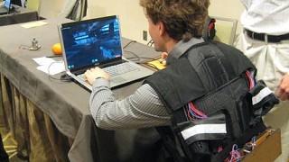 Tactile Gaming Vest