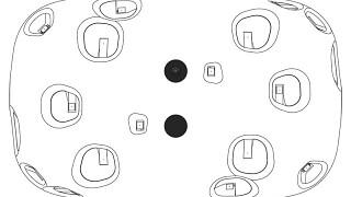 HTC Vive dimensions