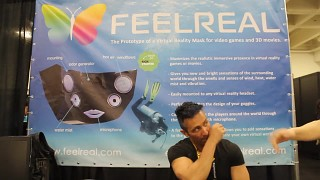 FEELREAL at GDC 2015