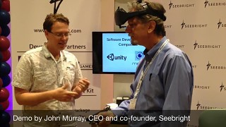 Seebright at InvenSense Developers Conference 2014