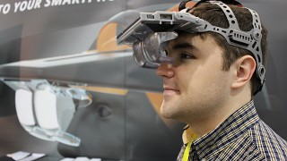 Ben Lang with Seebright Wave headset